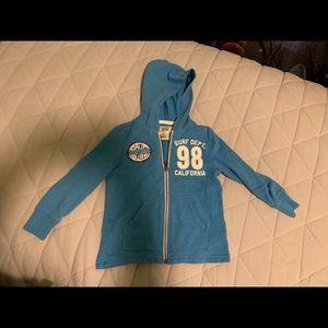 Size 3T old navy full zip hoodie boy